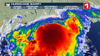 BREAKING: Barry Becomes a Hurricane