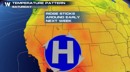 Excessive Heat Ahead for California into the Weekend