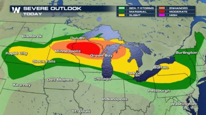 SEVERE WEATHER: Major Severe Threat for Midwest