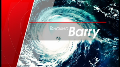 BREAKING: Barry Makes Landfall in Louisiana