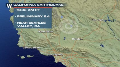 July 4th Earthquake Rocks Southern California, Nevada
