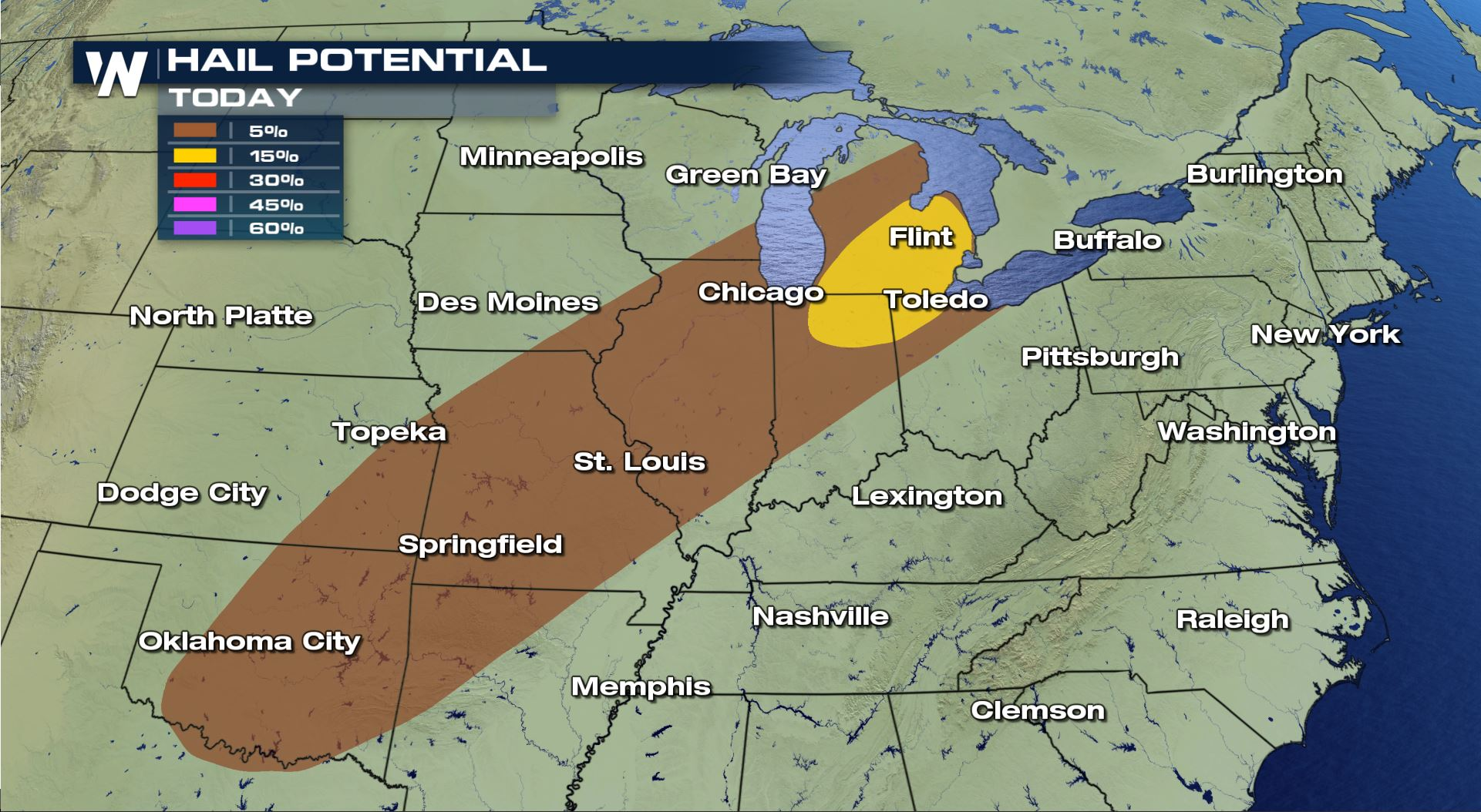 Severe Weather Risk for Areas of Ohio, Indiana and Michigan ... on indiana barometric pressure map, indiana climate, indiana snow forecast map, indiana fall foliage map, indiana utilities map, indiana precipitation map, indiana voting map, indiana people map, indiana sports map, indiana radar in motion, indiana storm map, indiana landmarks map, indiana internet map, indiana rural housing map, indiana crop map, indiana postal codes map, indiana tv map, indiana history map, indiana district map, indiana time map,