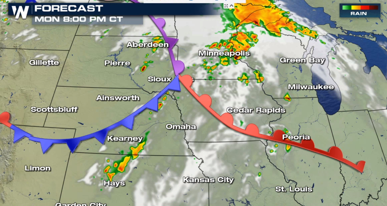 Threat for Severe Storms in the Upper Midwest - WeatherNation