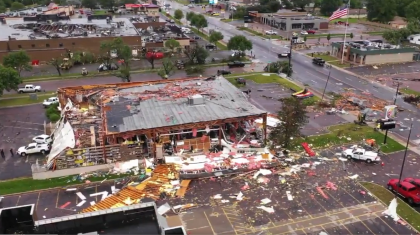 Cleanup Underway after Tornadoes and 100 mph Winds Hit Sioux Falls