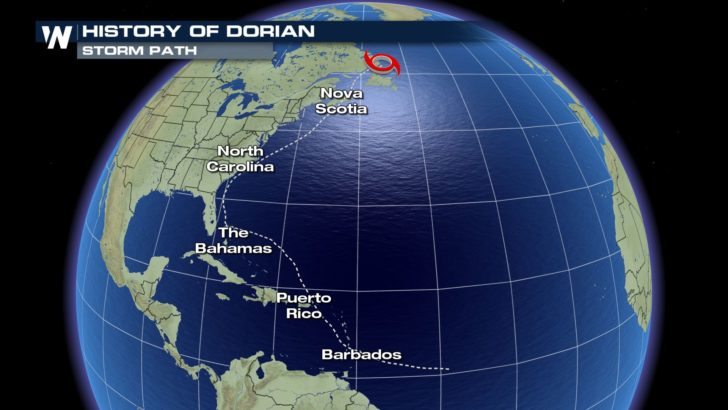 Looking Back at Hurricane Dorian