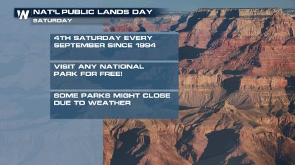 Free National Parks Day Today