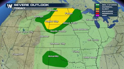 Severe Weather Threat for Friday and Into the Weekend