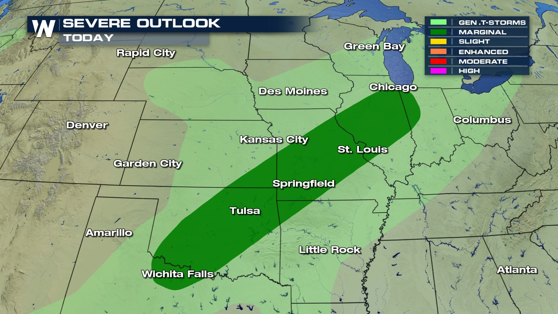 Severe Weather Sunday and into Next Week