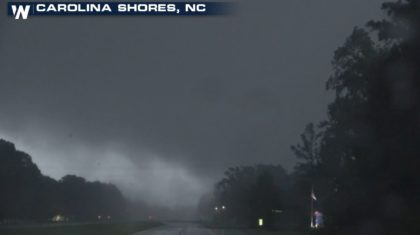 Tornadoes Spawn from Dorian in the Carolinas