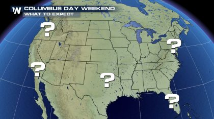 Columbus Day Weekend: What Weather To Expect