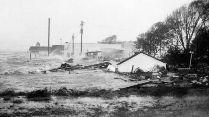 65 Year Anniversary of Hurricane Hazel Landfall in North Carolina