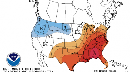 Updated October Outlook from NOAA's Climate Prediction Center