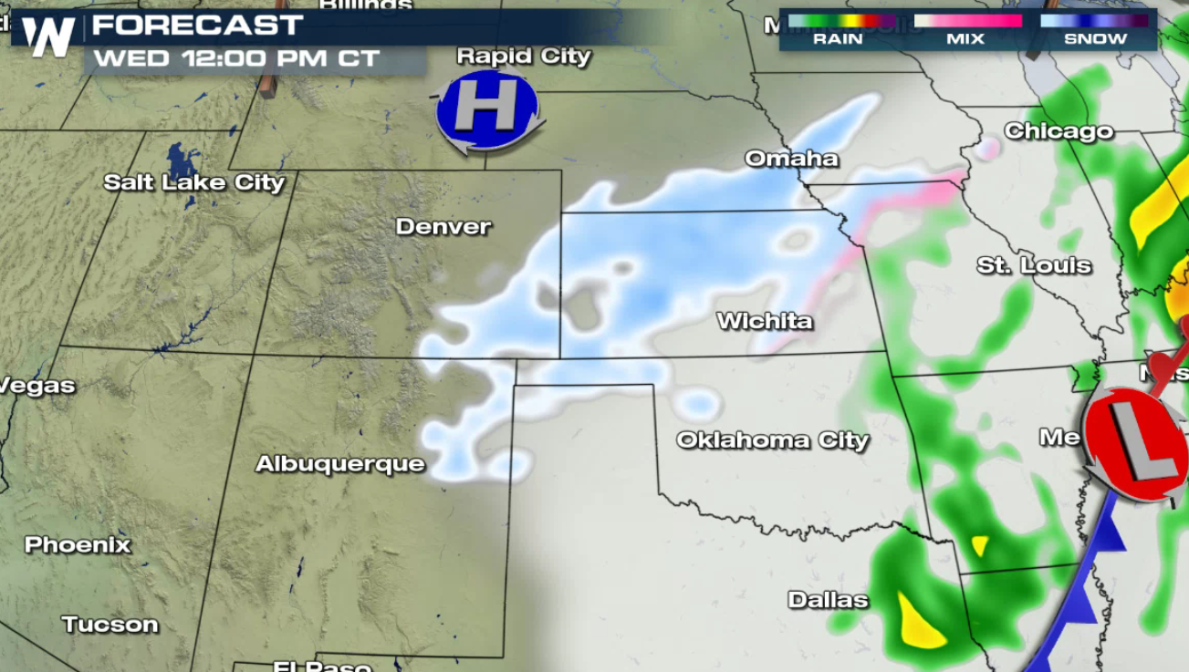 Denver To Omaha Drive more snow & cold for the front range and high plains