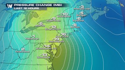 October Nor'easter Could Be A Record