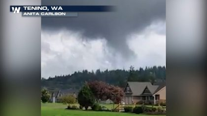 Weak Tornado in Washington State