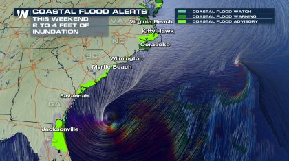 'Major' Coastal Flooding Coming