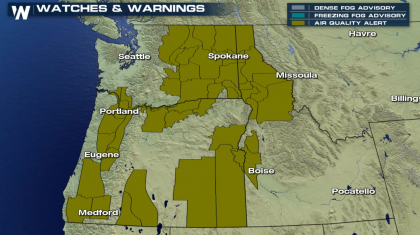 Dangerous Air Quality in the Northwest