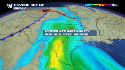Severe Storm Forecast Through the Weekend