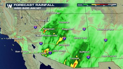 Heavy Rain for the Southwest This Week
