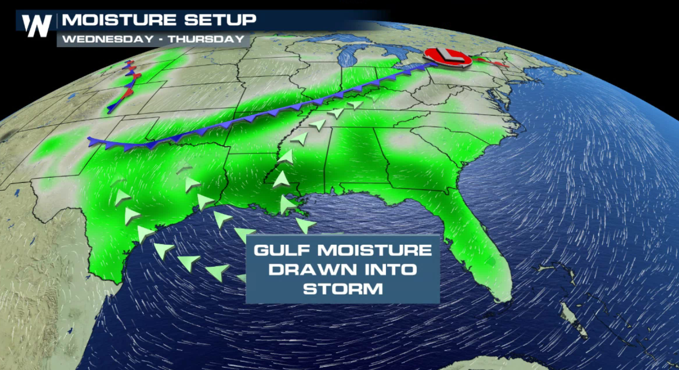 More Needed Rainfall on the Way for the Southern Plains