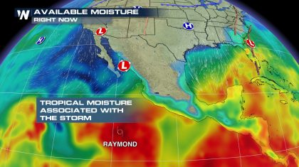 New Tropical Storm in Eastern Pacific