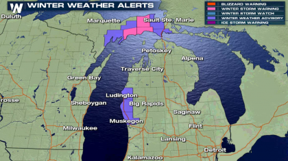 Lake Effect Snow Ramps Up