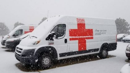 1,000 Units of Blood Uncollected Due To Weather/Holiday