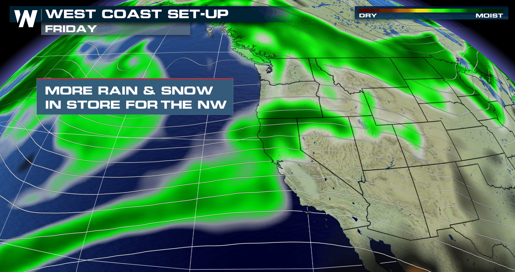 Active Weather Pattern Continues in the Northwest