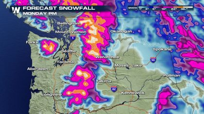 Multiple Storms Line Up To Slam The Northwest