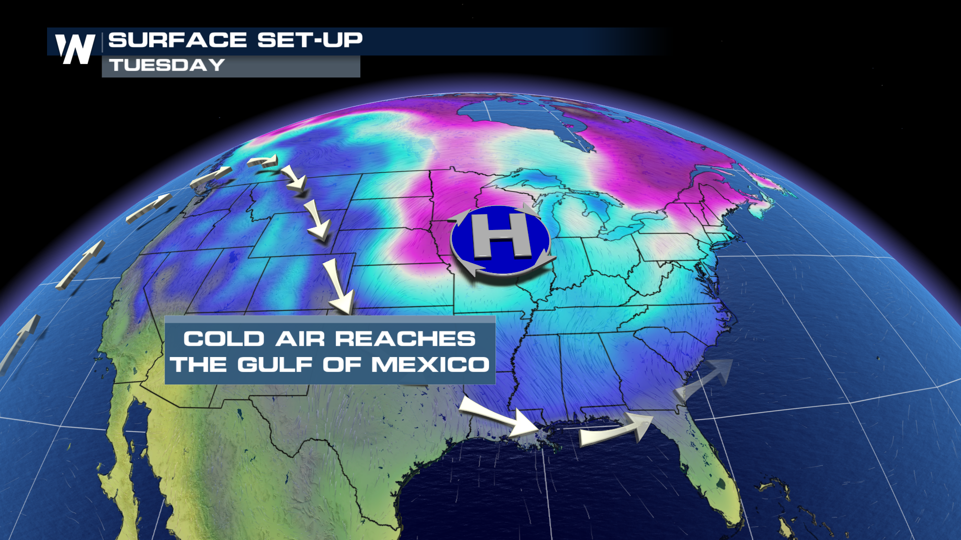Frigid Morning Ahead for the South and Southeast