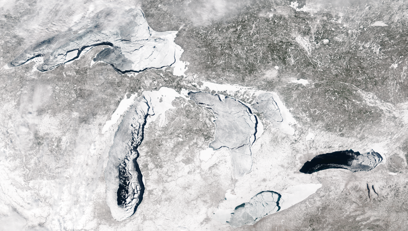 Great Lakes Ice, Evaporation, and Water Levels