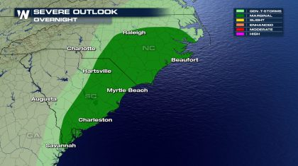 Severe and Flooding Threat for the Southeast