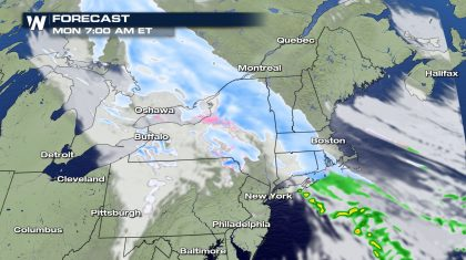 Alberta Clipper Eyes The Northeast
