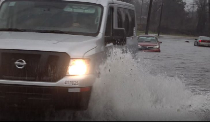 WATCH: Powerful Storm Impacts in the Southeast