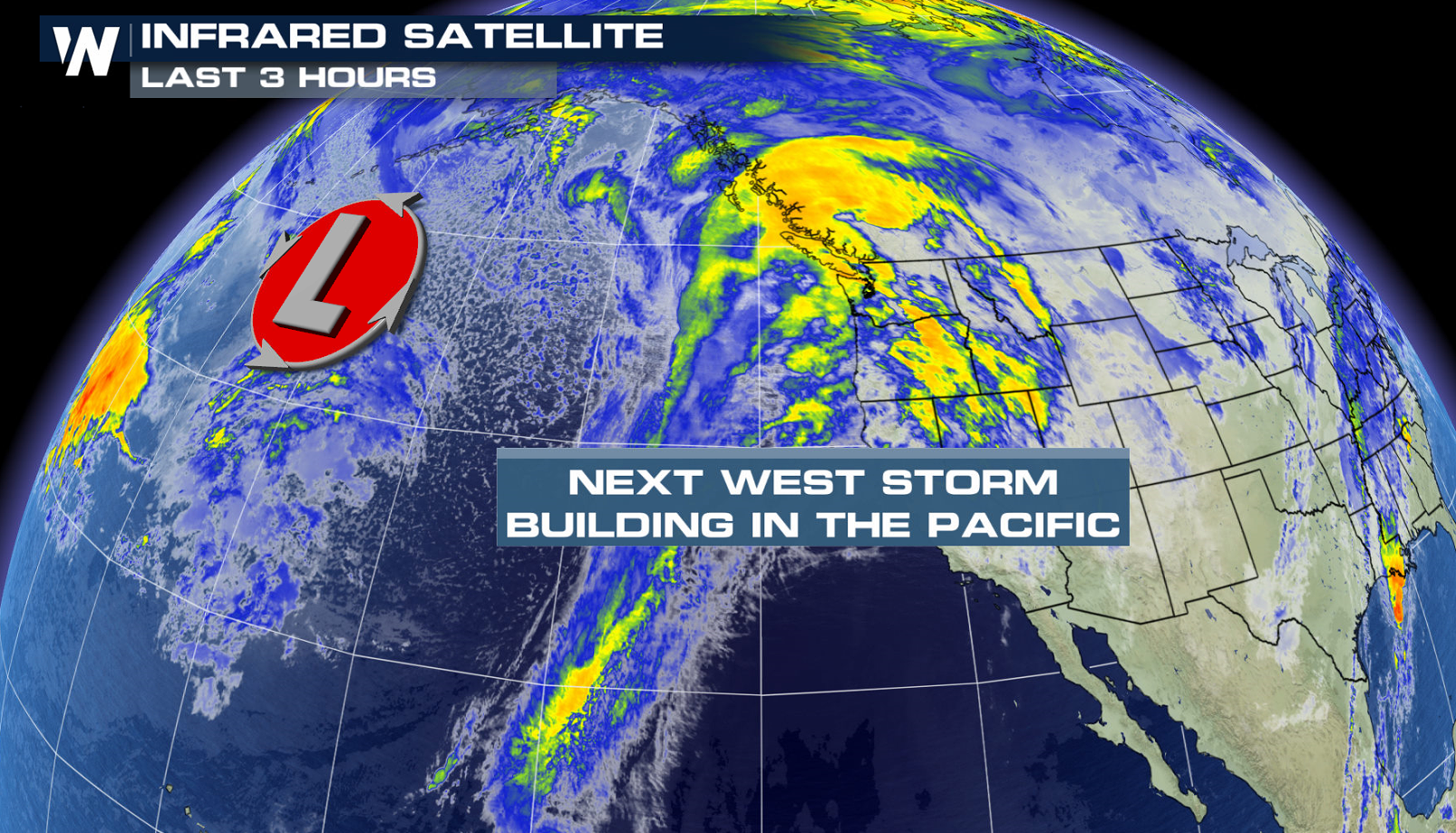 Pacific Moisture Impacts the Northwest