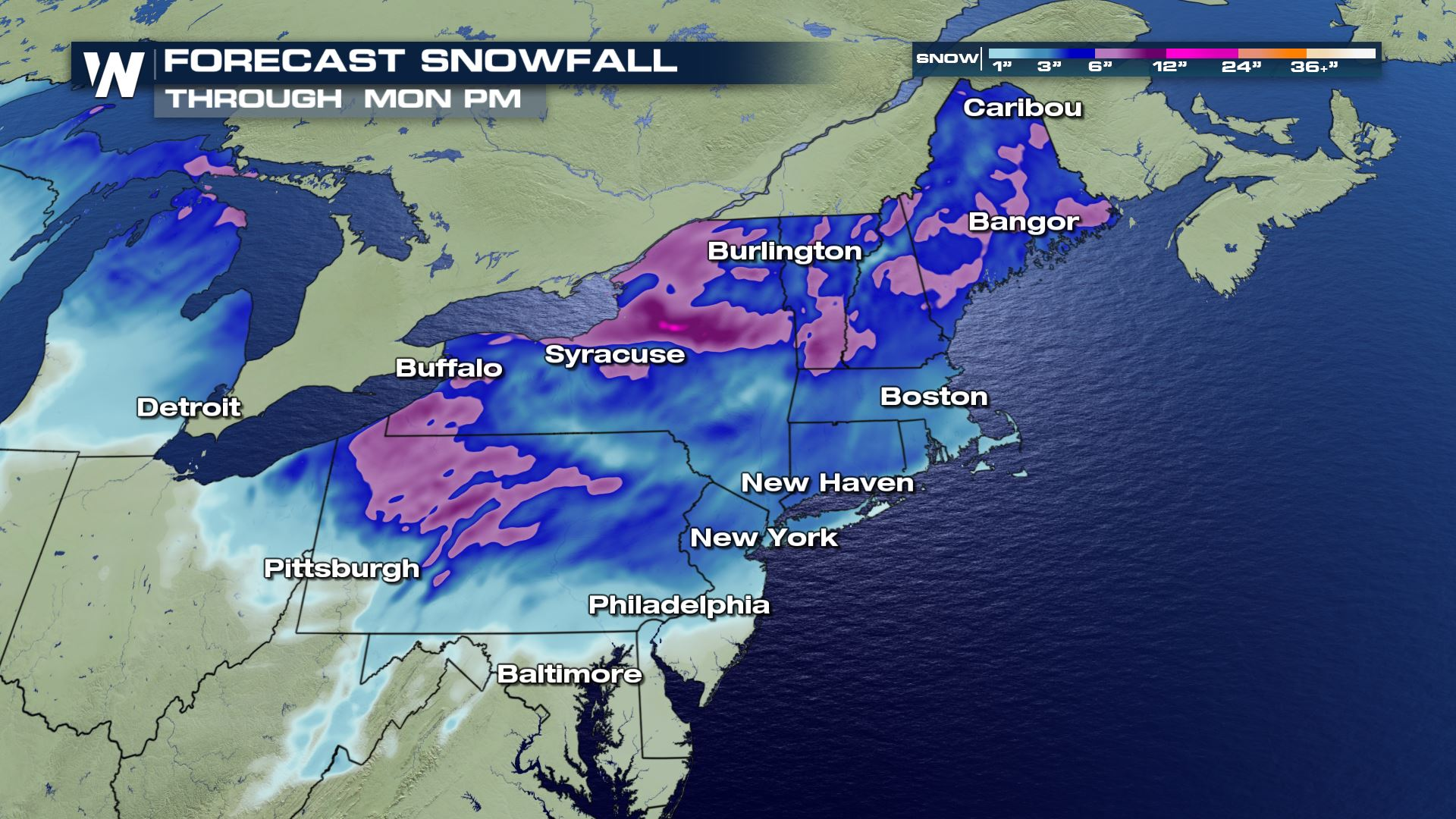 Winter Storm's Next Stop: The Northeast