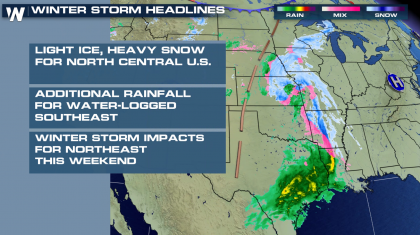 Winter Weather Continues in the Plains