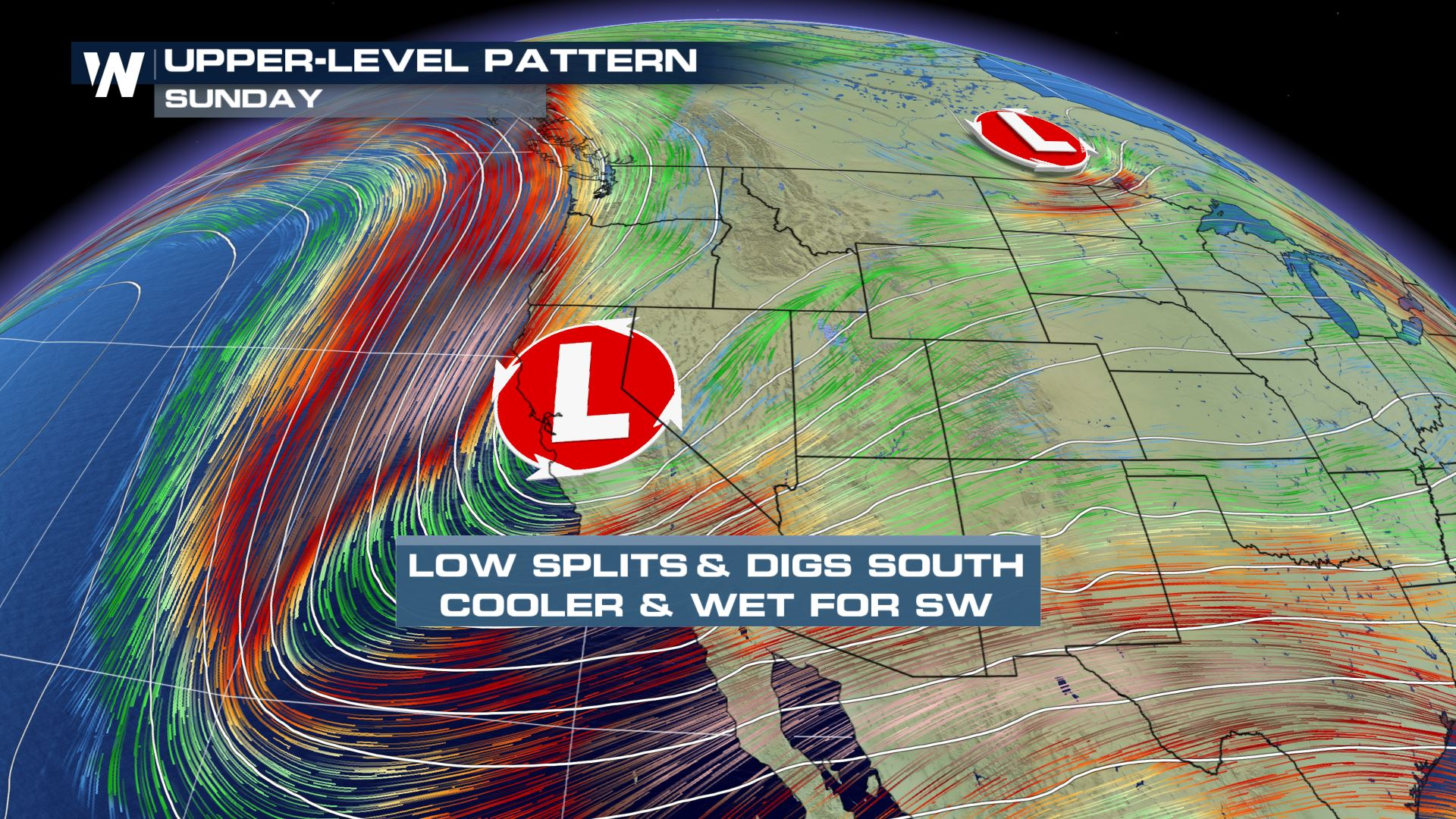 Storms Return to the West After Warmer Pattern