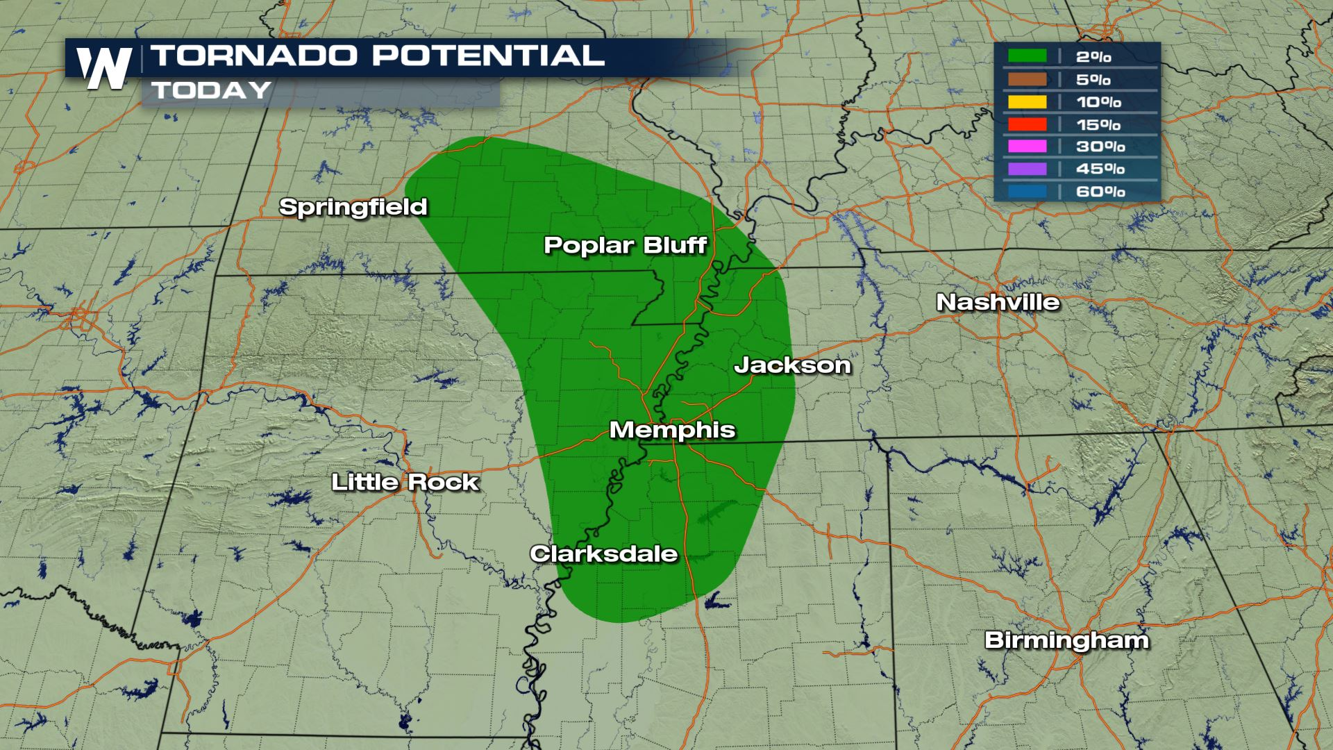 Monday Severe Weather Update