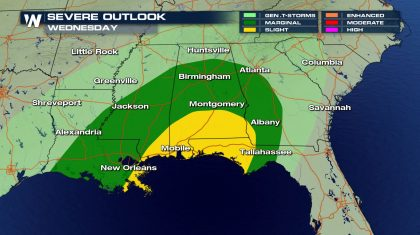 Severe Threat Returns this Week