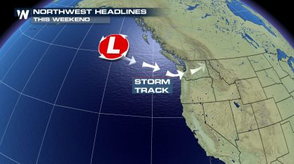 Next Storm Arrives in the Pacific Northwest