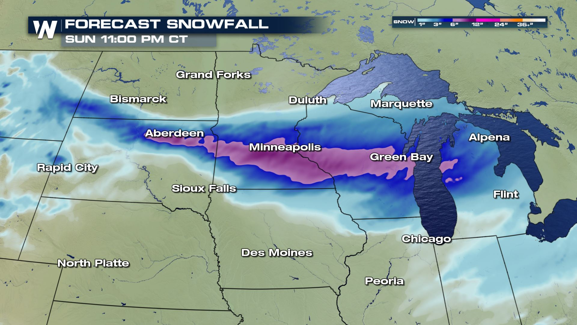 The Midwest Braces For More Snow