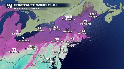 Bone-Chilling Cold in the Northeast
