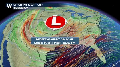 Widespread Storm System This Week