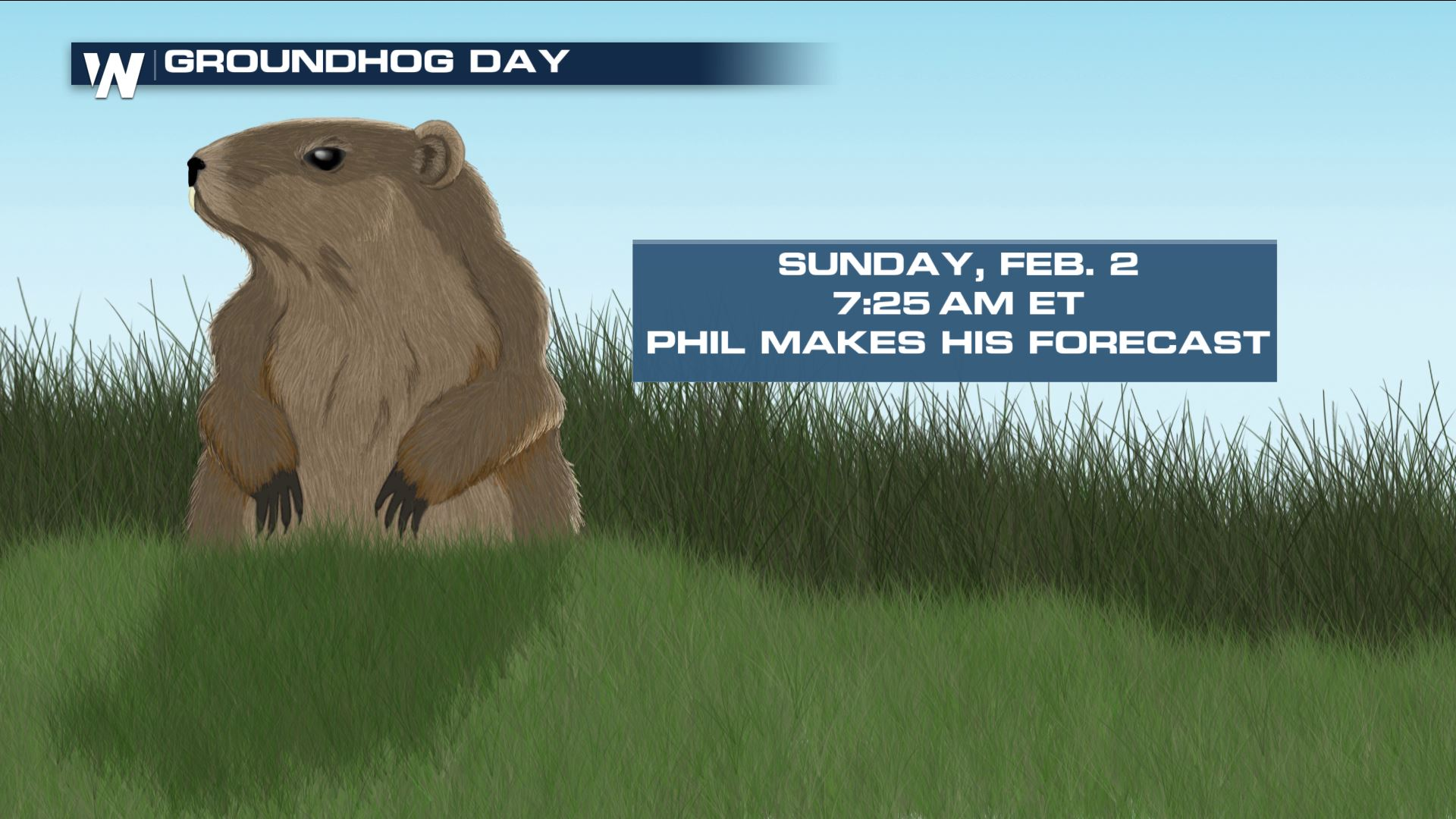 Phil Makes Groundhog Day Prediction Sunday