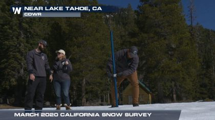 Continued Below-Average Year for California Snowpack