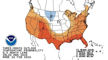 NOAA Spring Outlook Leans Towards Warmth and Wet Weather
