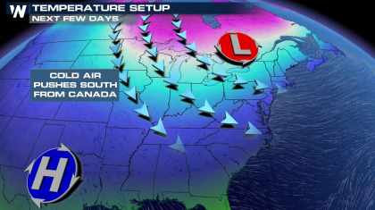 Big Cold Blast For The East