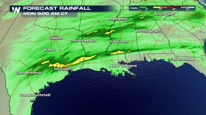 Southern U.S. To See Continued Rain