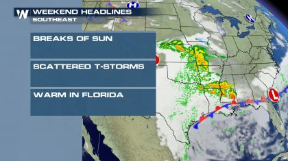 Weekend Weather Headlines